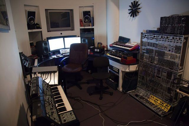 Фото домашних студий звукозаписи с профессиональной аппаратурой (22)