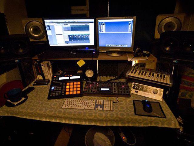 Фото домашних студий звукозаписи с профессиональной аппаратурой (11)