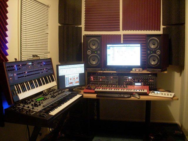 Фото домашних студий звукозаписи с профессиональной аппаратурой (7)