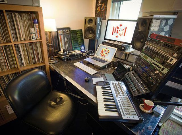 Фото домашних студий звукозаписи с профессиональной аппаратурой (4)