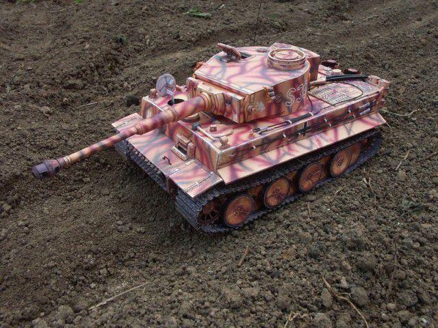 """Бумажная модель танка """"Тигр"""" PzKpfw VI Tiger (2)"""