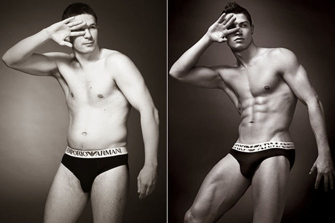 Мужчины-модели с естественной фигурой (1)