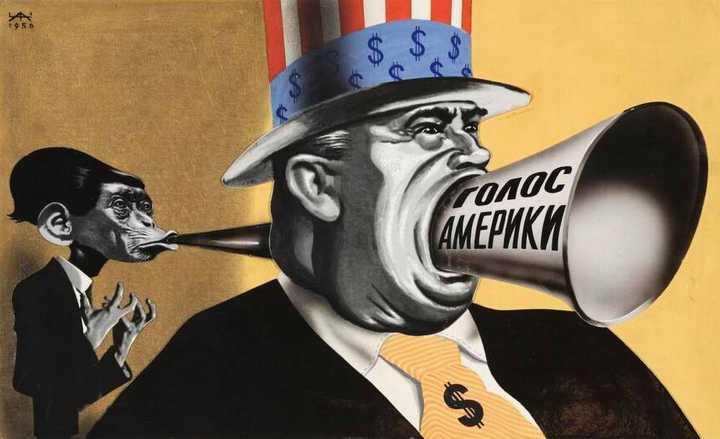 Антиамериканские плакаты времен СССР (2)