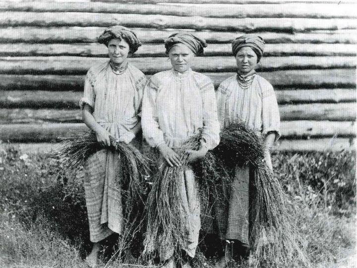 Чем занимались крестьяне начала прошлого столетия, какую работу они выполняли (1)