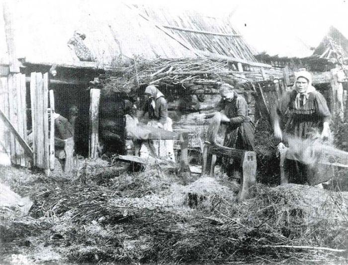 Чем занимались крестьяне начала прошлого столетия, какую работу они выполняли (21)