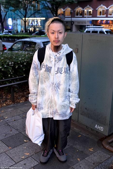 Прикольная одежда фриков. Уличная мода молодежи (36)