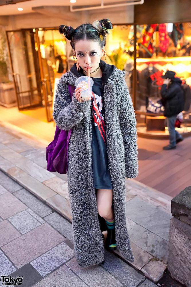 Прикольная одежда фриков. Уличная мода молодежи (24)