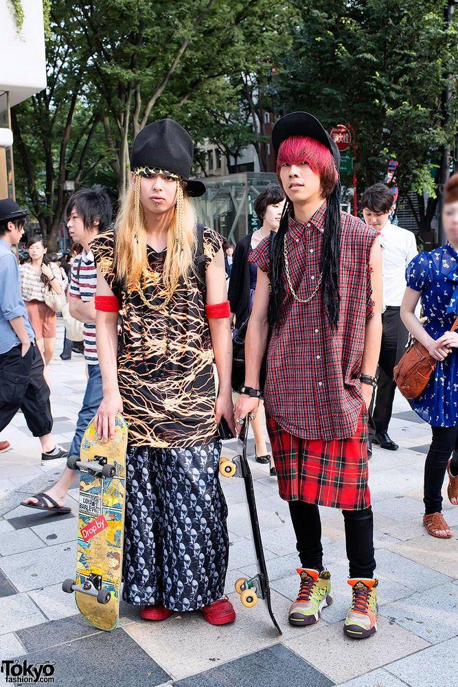 Прикольная одежда фриков. Уличная мода молодежи (20)
