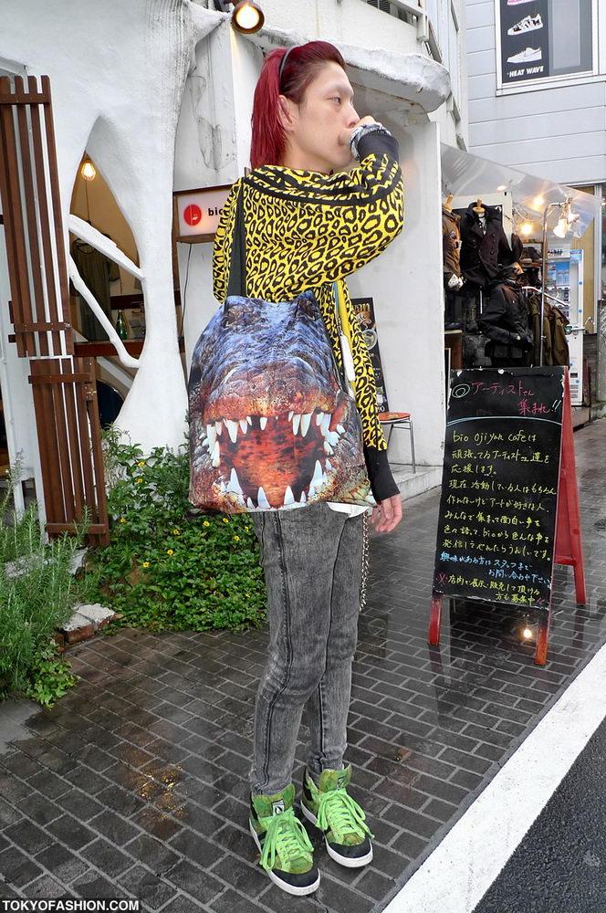 Прикольная одежда фриков. Уличная мода молодежи (14)
