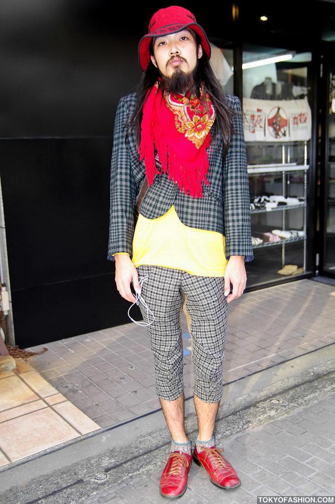 Прикольная одежда фриков. Уличная мода молодежи (11)