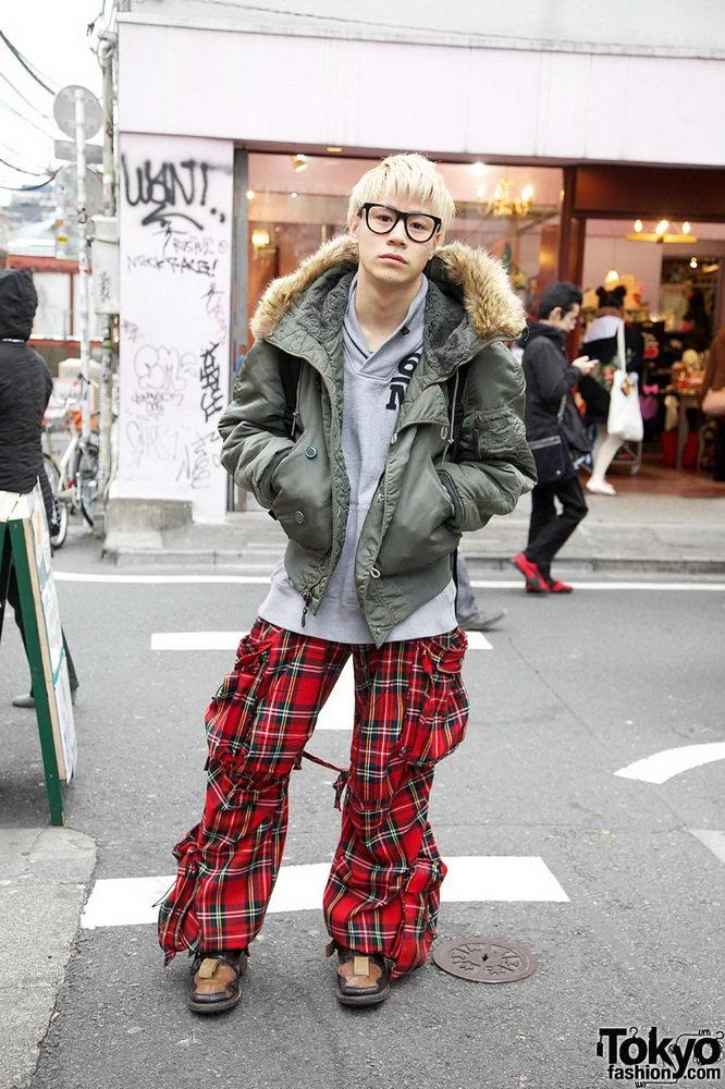 Прикольная одежда фриков. Уличная мода молодежи (8)
