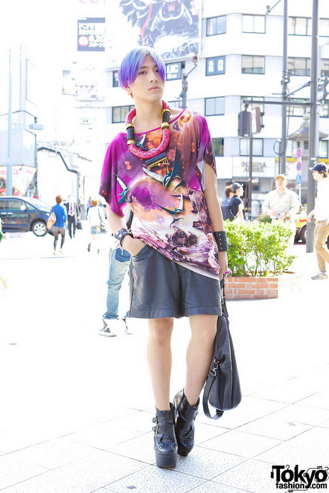 Прикольная одежда фриков. Уличная мода молодежи (6)