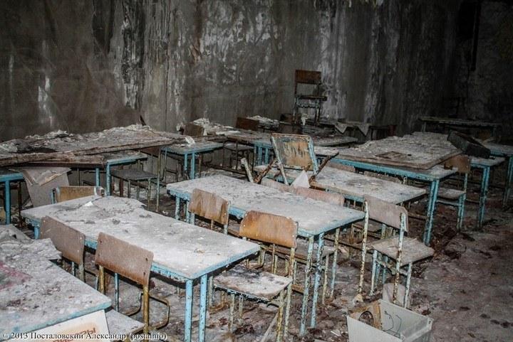 Учебный класс школы №2.