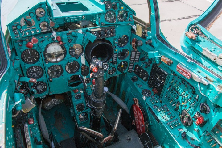 МиГ-21 в фотографиях, изнутри и снаружи (63)