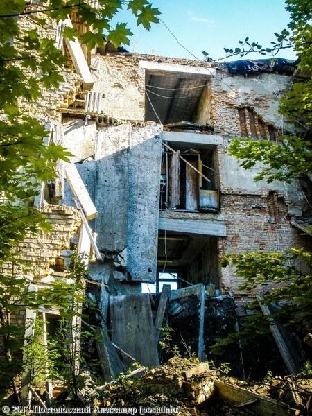 обрушение школы номер 1