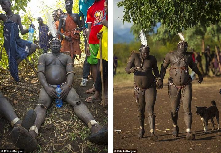 Необычный ритуал племени Омо из Эфиопии (8)