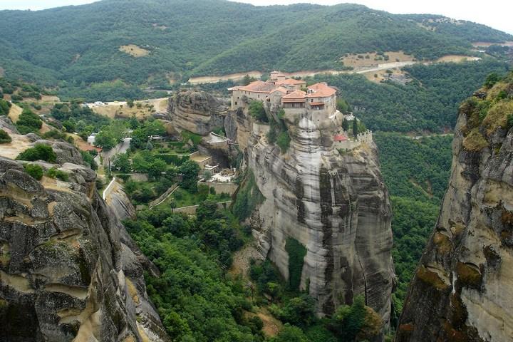 Старые монастыри в Греции Метеоры (7)
