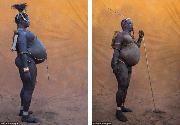 Необычный ритуал племени Омо из Эфиопии (11)