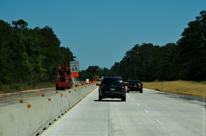 Процесс укладки дорожного покрытия в Америке (16)