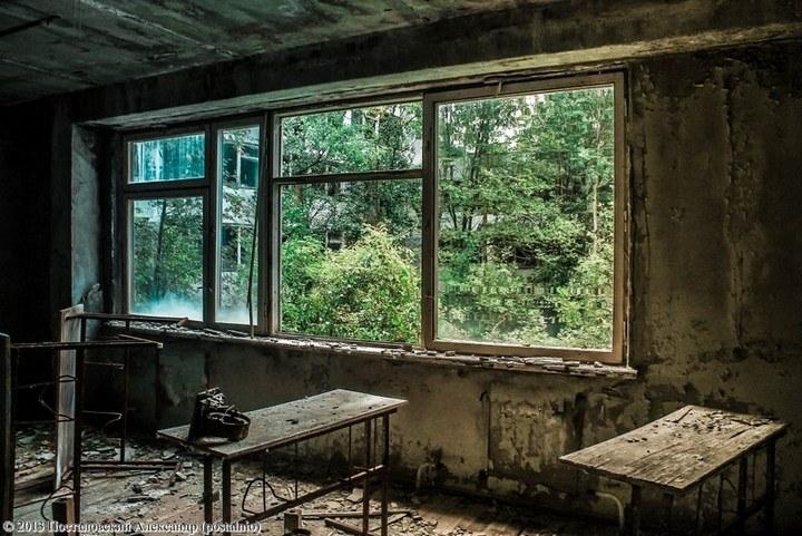 Школы в Припяти, интересное фото (18)