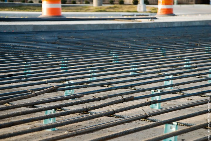Процесс укладки дорожного покрытия в Америке (26)