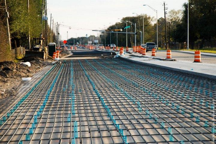 Процесс укладки дорожного покрытия в Америке (28)