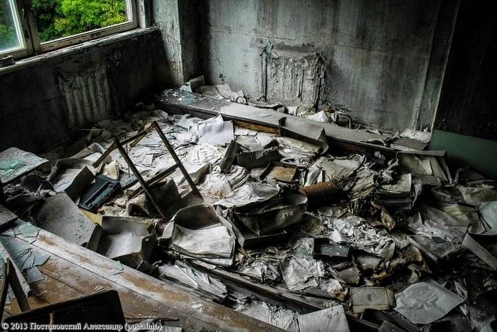 Школы в Припяти, интересное фото (29)