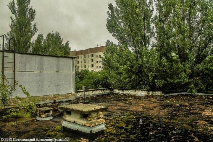 Школы в Припяти, интересное фото (30)