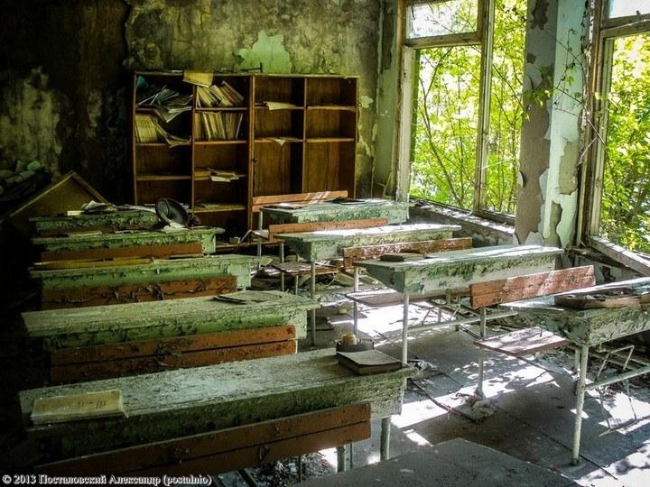 Школы в Припяти, интересное фото (32)