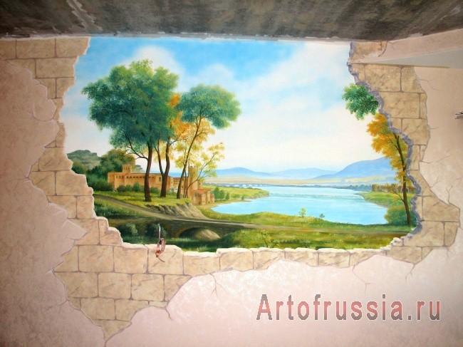 Живопись в интерьере: традиции искусства в оформлении жилого пространства. (3)