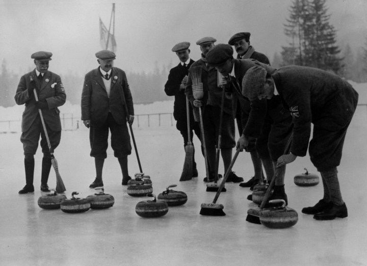 Первые зимние Олимпийские игры 1924 года, ретро фотографии (6)