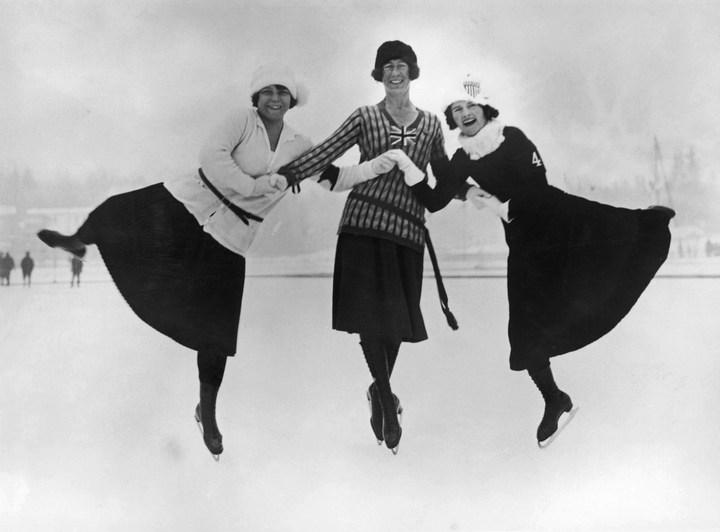 Первые зимние Олимпийские игры 1924 года, ретро фотографии (4)