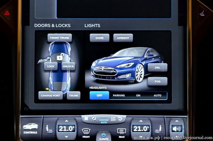 Как устроен электромобиль Tesla Model S (10)