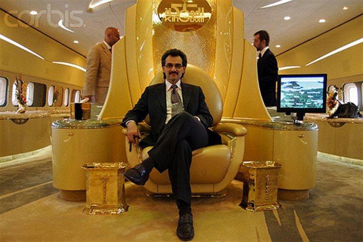 Личный самолет принца аль-Валид ибн Талал ибн Абдулазиз ас-Сауда, Золотой самолет арабского принца (3)
