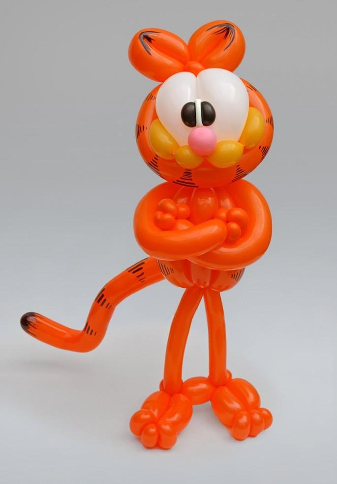 Красивые фигуры из длинных воздушных шаров. Примеры фигур из воздушных шаров (15)