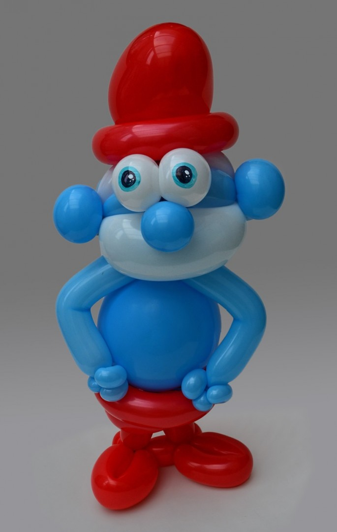 Красивые фигуры из длинных воздушных шаров. Примеры фигур из воздушных шаров (11)