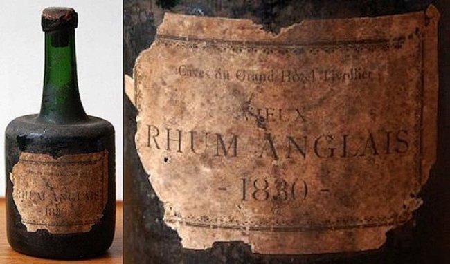 Самый старый алкоголь в мире, выдержка 184 года