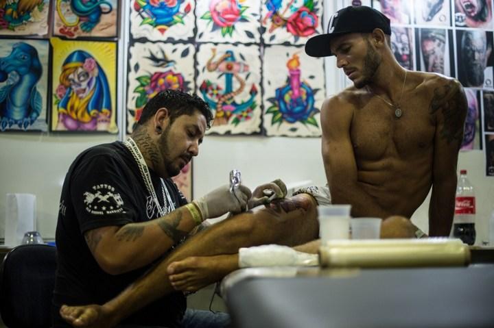 Самые татуированные люди (7)