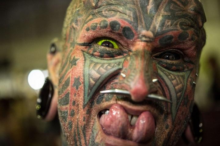 Самые татуированные люди (8)