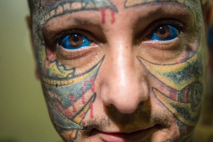 Самые татуированные люди (10)