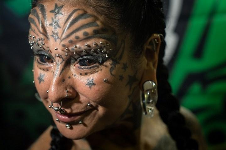 Самые татуированные люди (14)