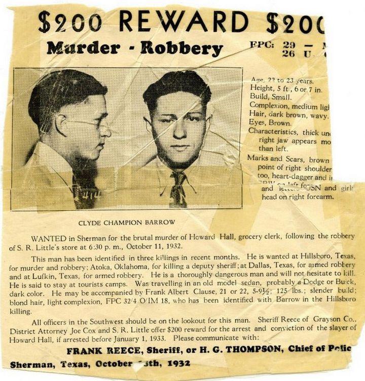 Знаменитые гангстеры Бонни и Клайд. Как это было (14)