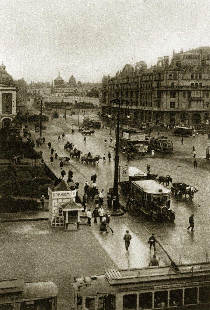 Старая Москва 1920-х годов, Старые фотографии Москвы (14)