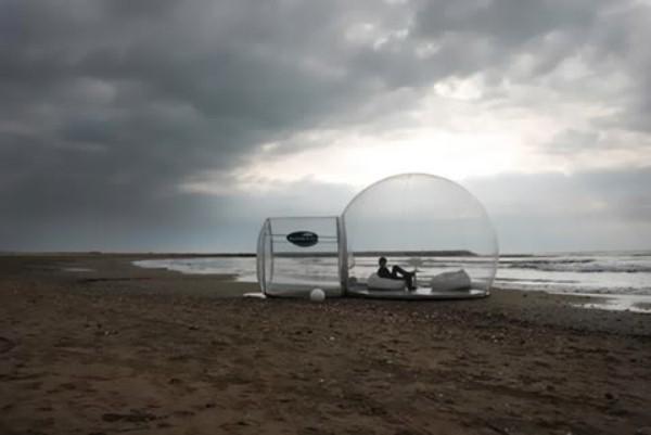 Прозрачный, надувной дом Bubble Tree (8)