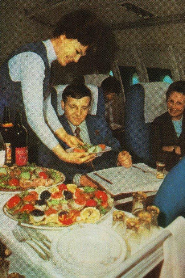 Реклама Аэрофлота времен СССР, История авиакомпании Аэрофлот, интересные факты (8)