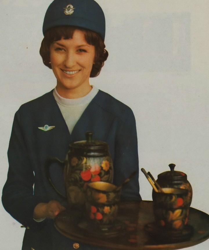 Реклама Аэрофлота времен СССР, История авиакомпании Аэрофлот, интересные факты (12)