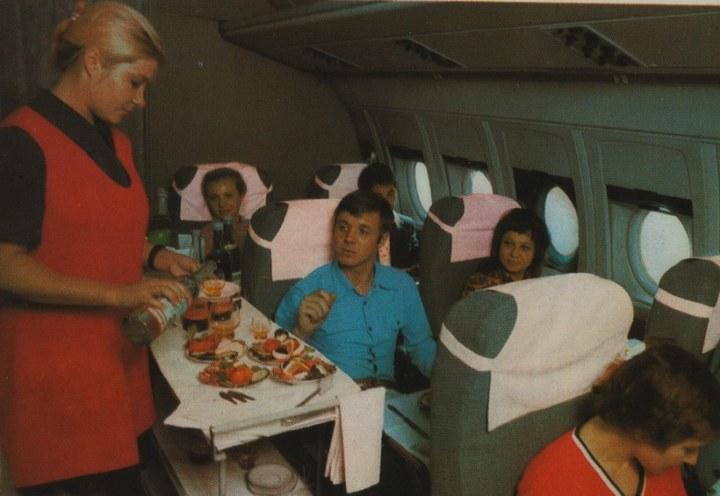 Реклама Аэрофлота времен СССР, История авиакомпании Аэрофлот, интересные факты (4)