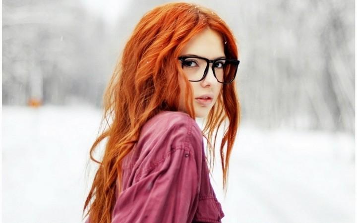 Какая одежда идет рыжим девушкам? (1)