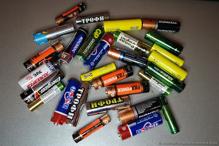 Тест батареек, какие выбрать? (1)