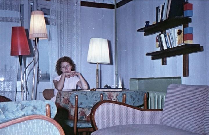 Старая фотосессия в советской коммуналке (11)